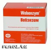 Лечение тромбофлебита глубоких вен препаратом Вобэнзим