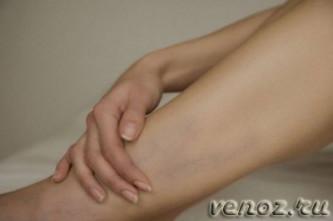 Красные пятна на ноге в варикозным расширением вен