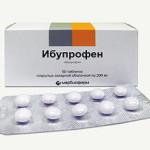 Ибупрофен - лекарство от мигрени