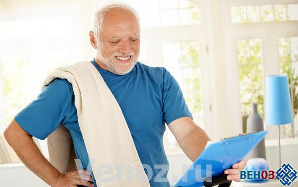 После инфаркта необходимы умеренные физические нагрузки и режим дня