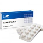 Мигрень: лечение парацетамолом