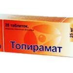 Таблетки от мигрени топирамат