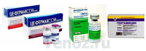 Антибиотики для лечения инфекционного эндокардита